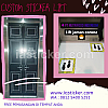 Sticker Sandblast Motif Lift
